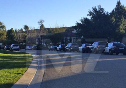 cop-cars-biebers-house-3