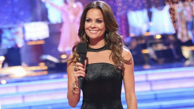 Brooke Burke-Charvet hosting Dancing With the Stars. (Adam Taylor/ABC)